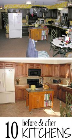 Before & after: Kitchen edition