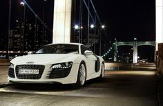 Audi R8 Nightshoot by Juanjo Bernabeu, via Behance