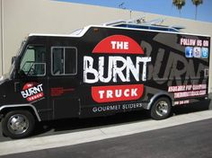 The Burnt Truck dishes out delicious gourmet sliders all over L.A.