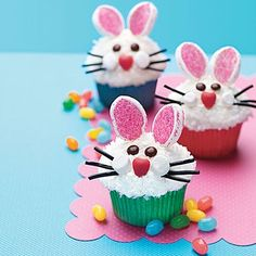 Easter Bunny Cupcakes special-treats-for-special-times