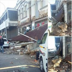 """IG: vickimaccallum on Twitter: """"The building that collapsed in Wynberg 📷 @megan_abels #CPTTraffic cc @GoodHopeFM https://t.co/a3lKoYM5E9"""""""