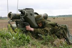 ROK with Milan Rocket Launcher