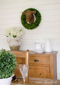 Farmhouse Dining Room Makeover - Nina Hendrick Blog