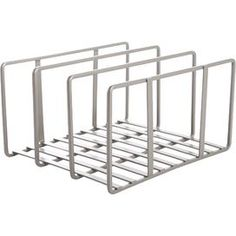 Reduce counter space clutter with this essential iron kitchen counter top organizer, perfect for storing cutting boards, cookie sheets and other flat bake wa. Pantry Organization, Organizing, Space Crafts, Craft Space, New Crafts, Craft Storage, Joss And Main, Bakeware, Kitchen Countertops