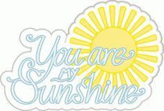 Silhouette Design Store - View Design #61171: you are my sunshine
