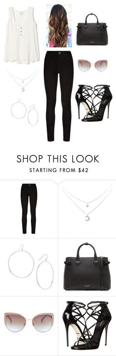 """""""Stroll in the park"""" by quynh-ho on Polyvore featuring Paige Denim, Gorjana, Burberry and Dolce&Gabbana"""