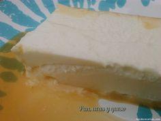 Flan de queso (Cecomixer)