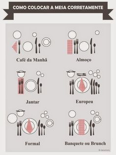 Funny pictures about The proper way to set a table. Oh, and cool pics about The proper way to set a table. Also, The proper way to set a table. Comment Dresser Une Table, Cena Formal, Dining Etiquette, Table Setting Etiquette, Etiquette Dinner, Wedding Etiquette, Etiquette And Manners, Table Manners, Le Diner