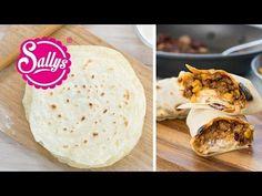 Sallys Rezepte - Weizentortillas Grundrezept / Wraps / Basic Rezept