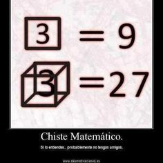 math joke haha--this makes me a nerd lol but I love math! Math Puns, Math Memes, Science Jokes, Math Humor, Memes Humor, Maths, Calculus Humor, Nerd Jokes, Nerd Humor