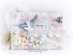 Free To Fly ... Shabby Chic Card
