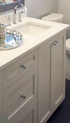 Bathroom | Shaker Vanity In White Chocolate | CUTLER KITCHEN U0026 BATH