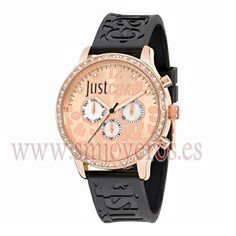 10695412990f Reloj Just Cavalli Mujer .Modelo R7251127511. Coleccion HUGE. Caja de acero  e Ip