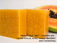 BEAUTICIAN. STELA: ,,PAPAYA, KOJIC & AHA'' - Cleansing Bar cu efect d...