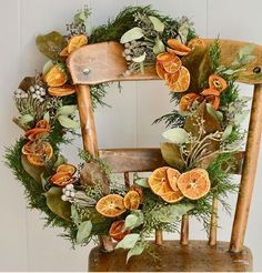 @curiouscountry posted to Instagram: Make a beautiful dried wreath for Fall and Winter with Dried Oranges, dried and preserved greens like Lemon Leaf Salal, Juniper Tips and Willow Eucalyptus. Add a few sprigs of Babies Breath and Floral Buttons to complete the look. Get everything you need to create this wreath by shopping in our store today! #wreaths #fallwreaths #falldecor #falldecorating #winterdecor #winterwreath #christmaswreath #driedoranges #driedflowers #naturaldecor #diywreath #diy