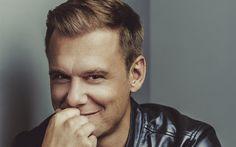 Download wallpapers dj, Armin van Buuren, portrait, Dutch dj, musician, smile
