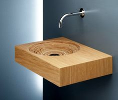 Modern bathroom sink wood