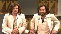 1st episode of the Barry Gibb Talk Show with Fallon and Timberlake SNL 2003. couple of BREAKS!