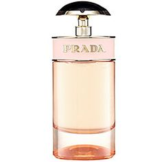 Prada - Candy L'Eau $68 NEW   A trinity of white musks, benzoin, and caramel is heightened by the presence of citrus and Oriental floral notes to create a vibrant ensemble. Zestful, elegant, and indulgent.   #sephora
