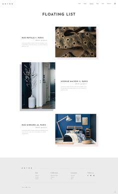 We equipped Entré WordPress theme with unique portfolio layouts to make your work truly stand out. #wordpress #webdesign #theme #layout #architecture #architect #interiordesign #decor #homedecoration #portfolio #furniture