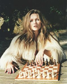 Kate Moss, 2003 shot by Juergen Teller  scanned from Vogue Feb 2013