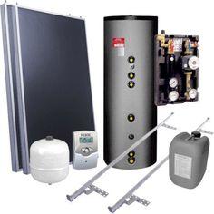 Chauffe-eau solaire individuel, Plan, EDG, Ganz ff 300L 2 capteurs