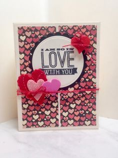 Handmade Valentine Cards and Tags