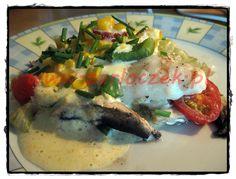 ryba z folii z warzywami