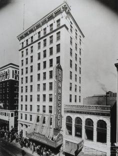 Opening Day For Tennessee Theatre Oct 1928 Appalachian Mountains, East Tennessee, Historical Pictures, Historic Homes, Time Travel, Nashville, History, City, Outdoor