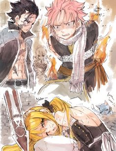 Andjsnfjsjfka I see this photo everytime and you could see the panic on his faceeee aaaghhh NALU