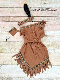 Girl's Native American Indian Costume/Pocahontas/Indian Princess, Made to Order American Indian Costume, Native American Dress, Indian Costumes, Up Costumes, American Indians, Cute Halloween Costumes, Halloween Kostüm, Pocahontas Costume, Fantasias Halloween