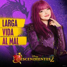 Mal the daughter of Maleficent Cameron Boyce, Descendants Wicked World, Disney Channel Descendants, Disney Villains, Disney Movies, Disney Channel Movies, Mal And Evie, Really Good Movies, China Anne Mcclain
