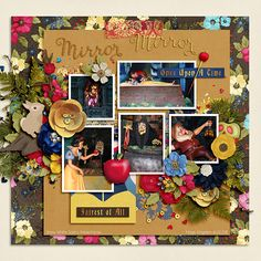 #believeinmagic: Fair Beauty by Amber Shaw & Studio Flergs http://www.sweetshoppedesigns.com/sweetshoppe/product.php?productid=32000&cat=775&page=1 Template by La Belle Vie Designs