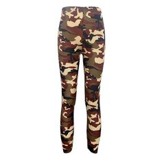 Spring-summer Women's Sport Leggings Fitness 2016 camouflage pants 100% cotton leggins High Elastic Free Shipping LG023