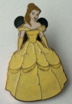 SPARKLE GLITTER GOWN PRINCESS AURORA New on Card RETIRED Pin Disney