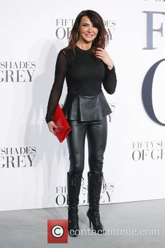 Lizzie Cundy Premire Fifty Shades of Grey | Lizzie Cundy - 'Fifty Shades of Grey' UK premiere held at the Odeon ...