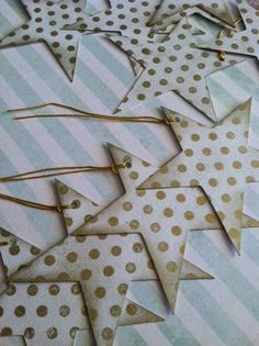 Irresistible combo - stars and polka dots! by papermooncottage