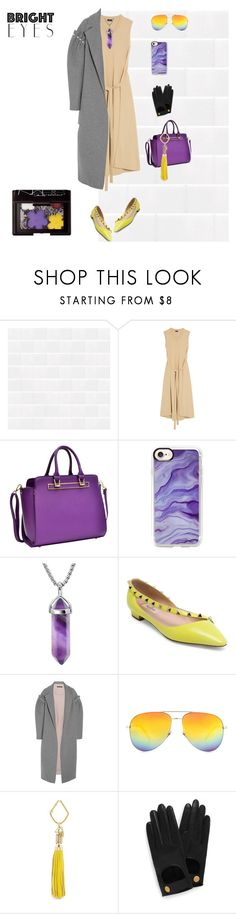 """""""Bright accessories"""" by olga-kikoo on Polyvore featuring мода, Joseph, Dasein, Casetify, Valentino, Mother of Pearl, Yves Saint Laurent, FOSSIL, Mulberry и Bohemia"""