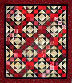 Kwilt n Kats blog Playing with Jacks quilt pattern by Bonnie Hunter