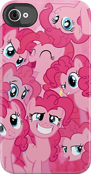 Only I don't have an iPhone. My best friend of whom is obsessed with pinky pie does though!