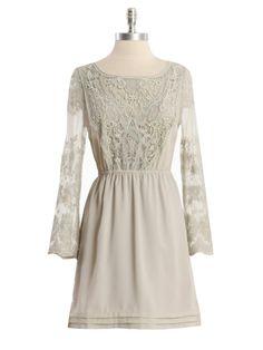 Fog Mist Lace Sleeve Dress: 100 Lace Dresses for Summer: Style: teenvogue.com