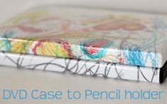 Dvd Case To Pencil Holder Tutorial From Better Life Bags