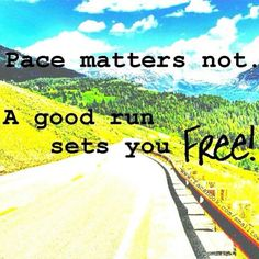 Pace matters not