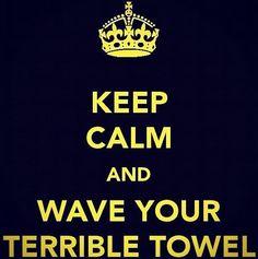 terrible towel!!