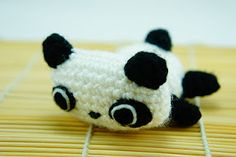 DIY tare panda amigarumi
