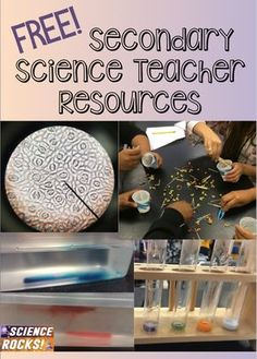 Free secondary science teacher resources from Science Rocks Science Resources, Science Lessons, Science Education, Teacher Resources, Physical Science, Life Science, Earth Science, Science Ideas, Forensic Science