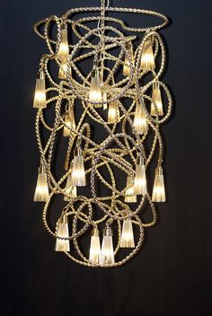 One of the best chandelier brands in light and building 2014 customised sultans of swing chandelier at euroluce milano 2013 aloadofball Image collections