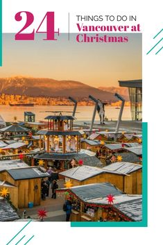 The BEST things to do in Vancouver at Christmas Christmas Travel, Holiday Travel, Christmas Time, Christmas Markets, Quebec, Montreal, Vancouver Christmas Market, Toronto, Vancouver Travel
