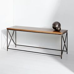 Lamon Luther Bench #westelm