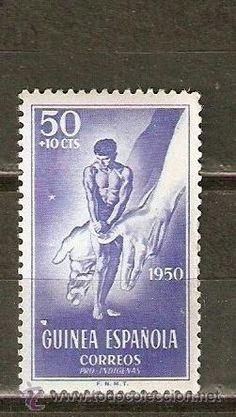 GUINEA ESPAÑOLA EDIFIL NUM. 295 ** NUEVO SIN FIJASELLOS 1950